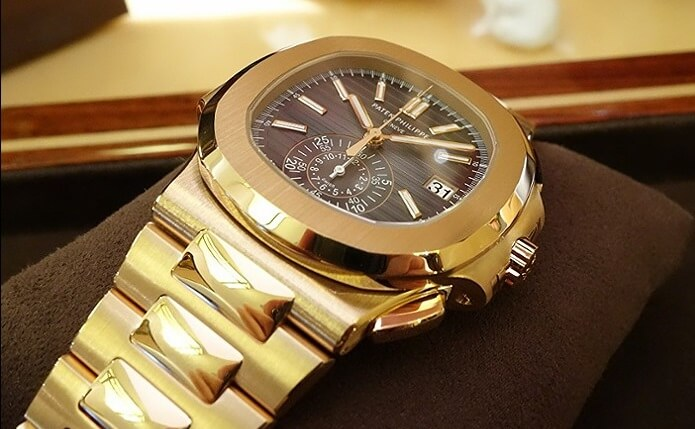 Patek Philippe Nautilus Gold Watch