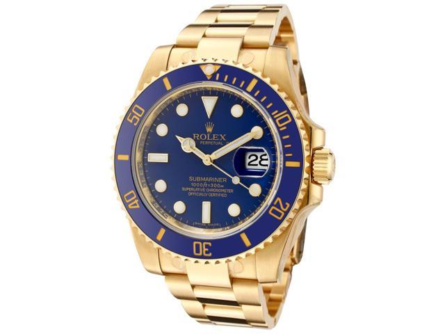 Rolex Submariner 18kt Yellow Gold