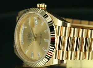 rolex day date gold watch review